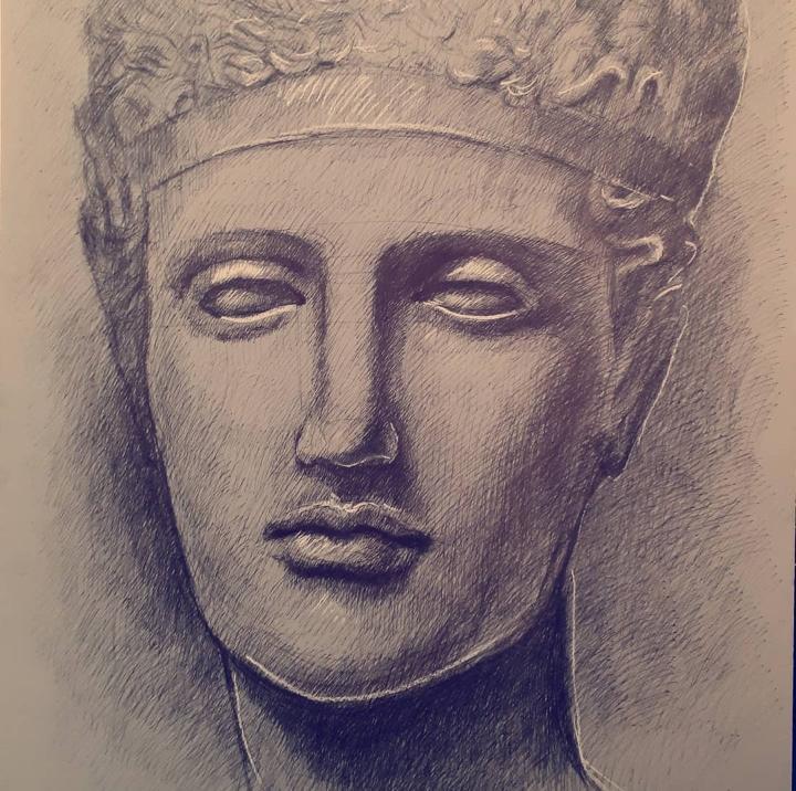 Roberto Di Costanzo_Studio della scultura classica greca_credits Courtesy of Press Office